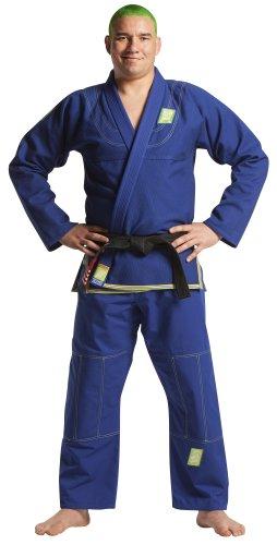 "Brazilian Fight Wear ""BAHIA"" Kimono, Blue, Adult 3"