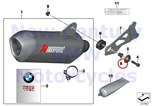 BMW Genuine Motorcycle Exhaust Muffler Spacer Sleeve for sale  Delivered anywhere in USA