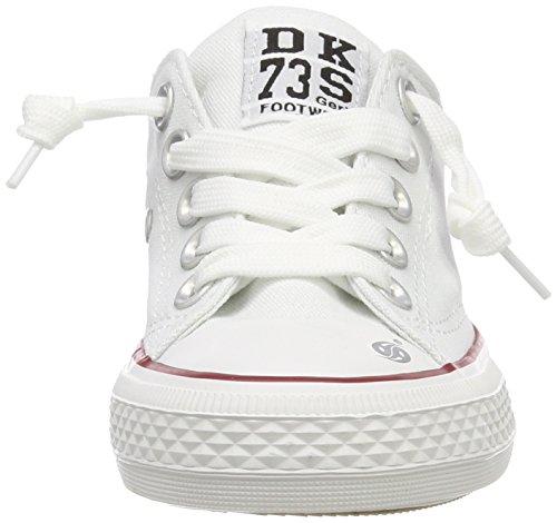 Dockers by Gerli Unisex-Kinder 38ay613-710500 Sneaker Weiß (Weiss 500)