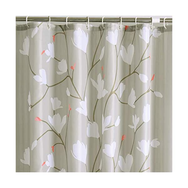 RianGo Border Collie Shower Curtain - Machine Washable - Shower Hooks are Included 2