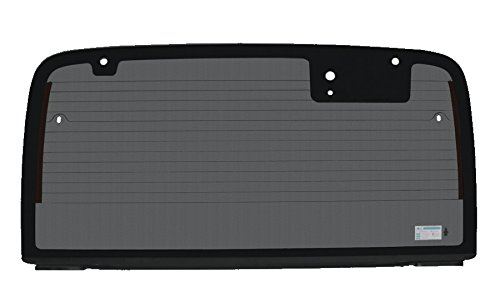 PPR Industries 309904 03-06 G Rear Back Glass Rear Window With Defrost Gray Tinted For 03-06 Jeep Wrangler Hardtop 2003-2006 TJ