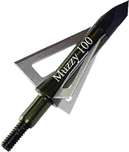Muzzy 100 Grain 3 Blade Crossbow Head 225-X
