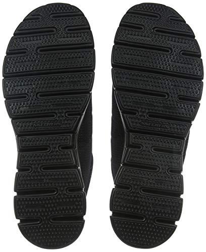 Closed Negro Skechers Mujer Synergy black Zapatillas De case Entrenamiento Para 4qEq6