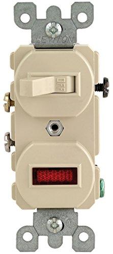 Leviton 105-5226-ISP Lighted Pilot Switch