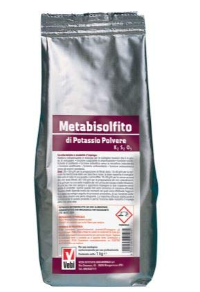 metabisolfito de ion potasio útil para varios usos de unidades de 1 ...