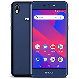 BLU Advance 5.2 HD – GSM Unlocked Smartphone, 16GB+1GB RAM -Blue
