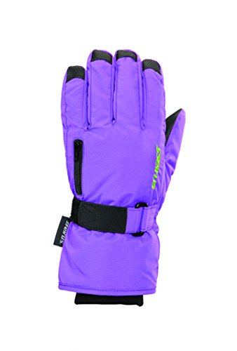 Alpine Ski Cinch - Seirus Innovation Jr Stash Gloves, Large, Purple