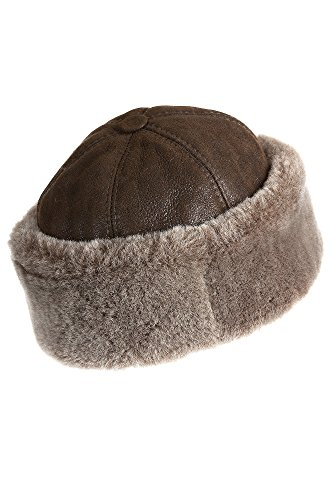 thunder-bay-shearling-sheepskin-cossack-hat-brown-briesa-size-medium-23-1-4-circumference