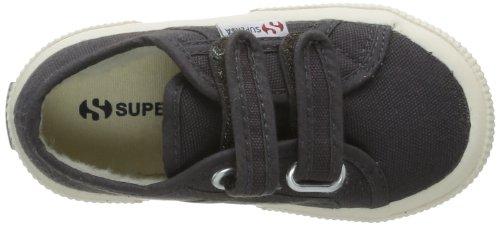 Superga 2750 Cobinvj - Zapatillas de tela para niños Gris (Gris (Dk Grey))