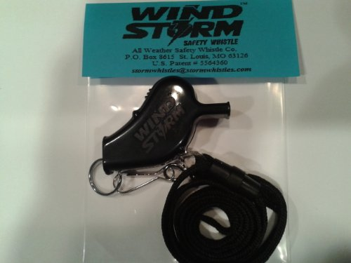 Storm Whistle (Black) - 7