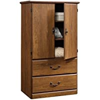 Pemberly Row Armoire in Milled Cherry