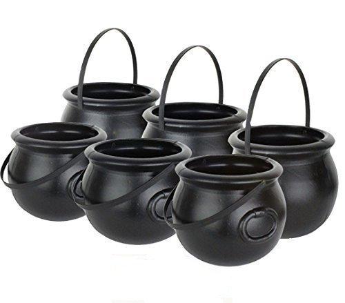 8 Inch Black Plastic