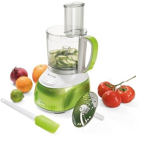 Genius Feel Vita Food Processor | Deluxe - Juego de 31 piezas | Robot de cocina incluye Feel Vita NUTRI Mixer | Smoothie maker | Stand de licuadora ...