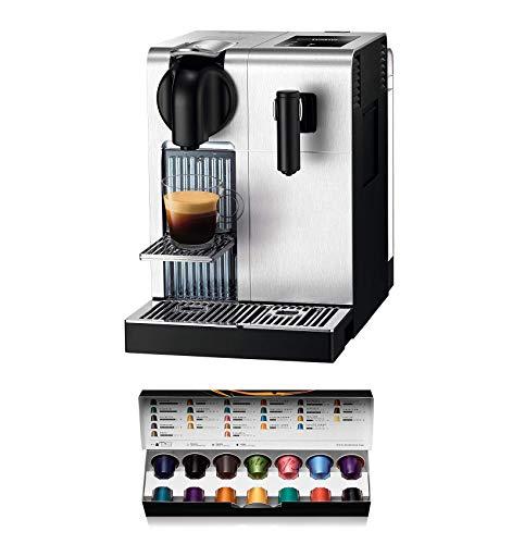 Nespresso DeLonghi Lattissima Pro EN 750MB-Cafetera de cápsulas, 19 bares, apagado automático, depósito de leche…