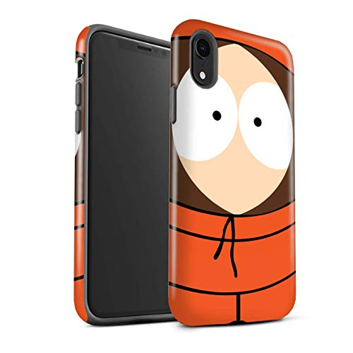 Gloss Phone Case for Apple iPhone XR Funny South Park Inspired Kenny Design Glossy Tough Shock Proof Bumper Cover