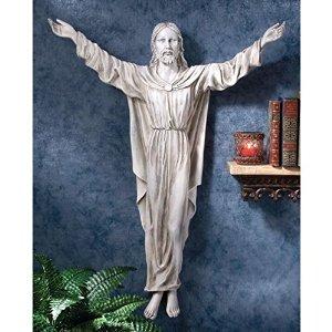 Design Toscano The Benediction of Jesus Wall Sculpture
