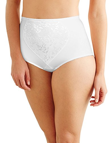Bali Women`s Smoothers Firm Control Brief with Tummy Panel - Best-Seller, X710