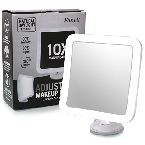 Fancii Led Lighted 3x 10x Mini Magnifier With Adjustable