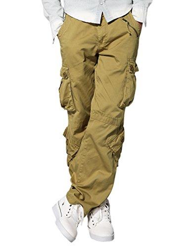 Match Men's Wild Cargo Pants(Khaki,34)