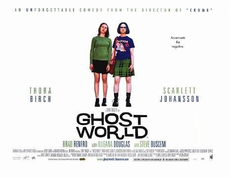 Ghost World Poster Movie 11 x 17 In - 28cm x 44cm Thora Birch ...