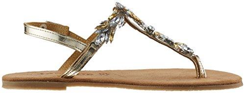 Tamaris 28152, Protectores de Dedos para Mujer Plateado (Gold Comb 943)