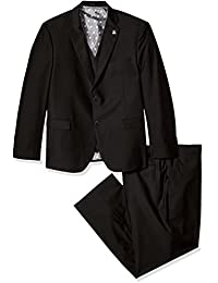 Men's Bud Big and Tall Vested Slim Fit Suit,