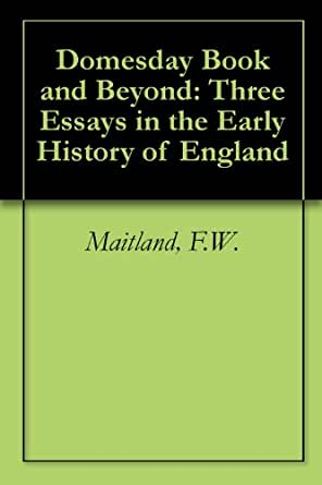 f w maitland essays Amazoncom: essays on the teaching of history (9781107644557): f w maitland: books interesting finds updated daily amazon try prime books go search departments.