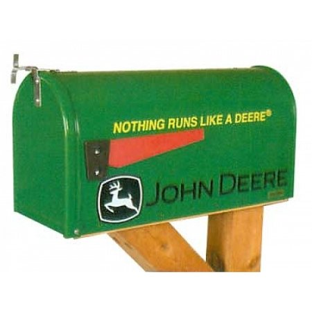 John Deere Nothing Runs Like A Deere Rural Mailbox