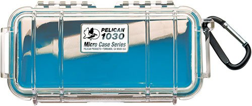 Waterproof Case | Pelican 1030 Micro Case - for cell phone, GoPro, camera, and more - Waterproof 1030 Case