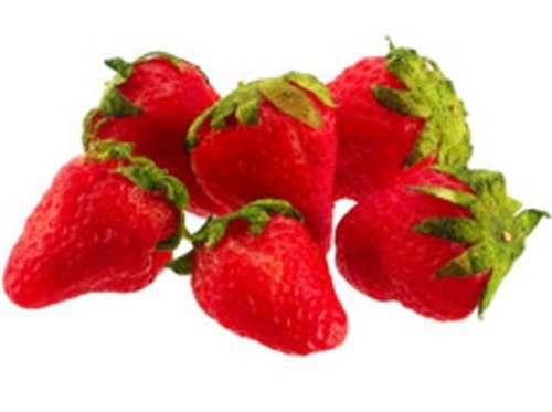 Strawberry 5 Artificial Fake Food Fruit Strawberry Marcel Imports
