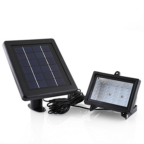 Deckey Solar Powered LED Landscape Spotlight Ou...