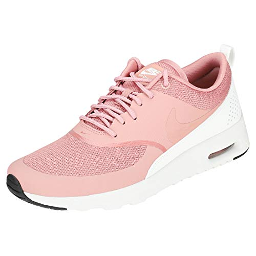 Sneaker Air Multicolore Thea Donna Pink NIKE Summit Black a Collo Basso Max White 001 Rust Rust Wmns Pink wICqz