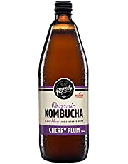 Remedy Organic Kombucha Cherry Plum Bottle, 750 ml