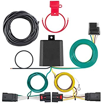 Excellent Amazon Com Rugged Ridge 17275 01 4 Way Tow Hitch Wiring Harness Wiring Digital Resources Indicompassionincorg