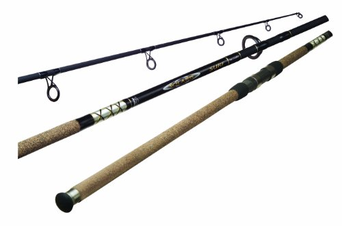 Fishing Rods- SS-S-902M-1 (Black, 9-Feet) ()