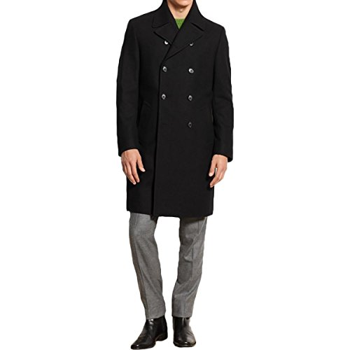 Double Breasted Two Button Coat - 1