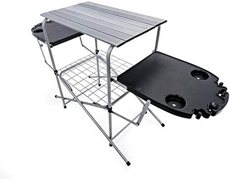 Camco Deluxe Foldable Outdoor Grilling Table
