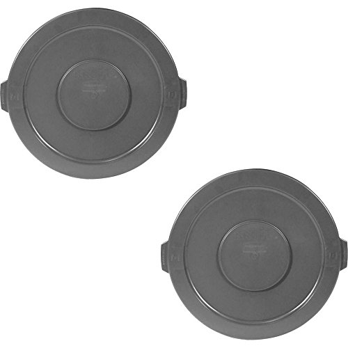 Rubbermaid Commercial Brute Lid for 32 gal Trash Can (2 Pack)