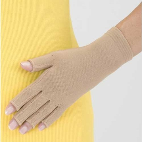 Medi Mondi Esprit Full-Finger Compression Gloves : Caramel Size III by Mediven