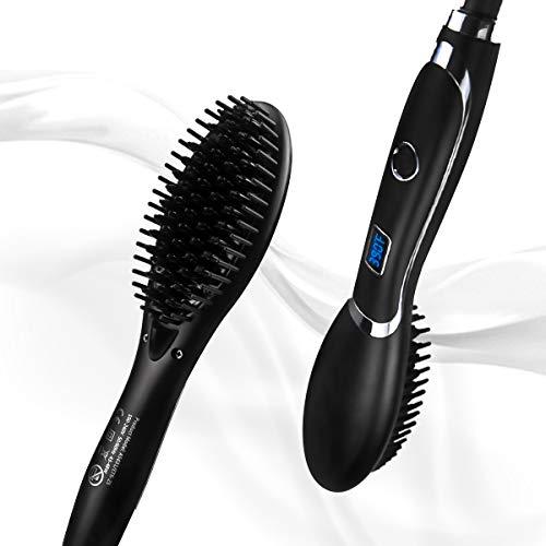 Hair Straightening Brush, Corded Veru ETERNITY...