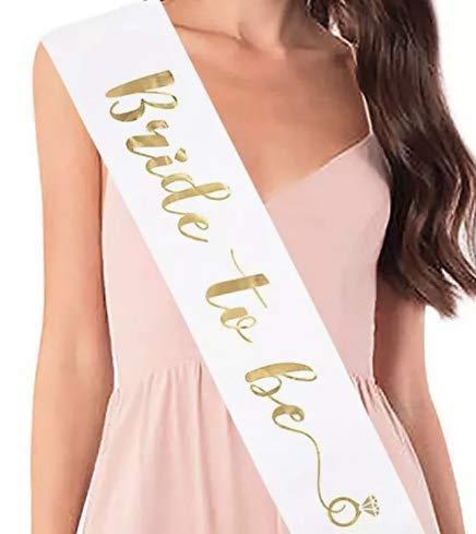 Escape Essentials Bride to Be Bachelorette Sash - Bridal Shower Favor Wedding Decorations Party Supplies Accessories]()