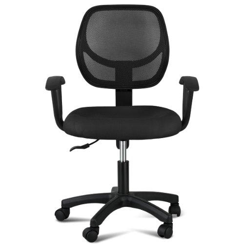 Topeakmart Ergonomic Mesh Back Executive Computer Desk Task