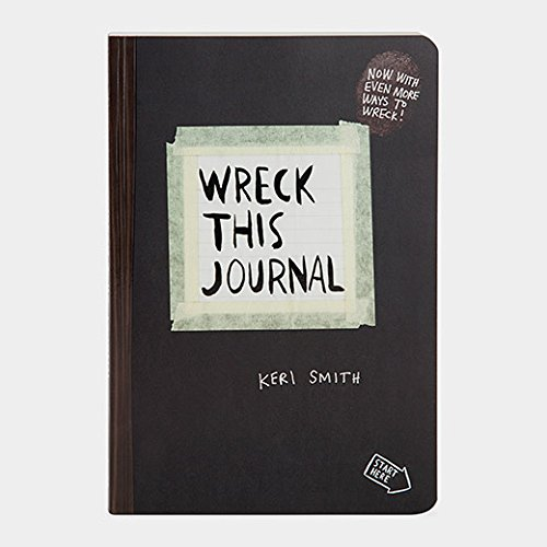 Wreck This Journal (Black) Expanded Edition Cool Designs To Color