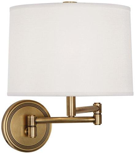 Robert Abbey Brass Sconce (Robert Abbey One Light Wall Swinger 2824)