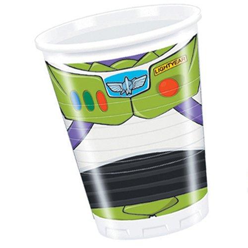 Procos 81539, Bicchieri festa Toy Story Star, confezione di 8