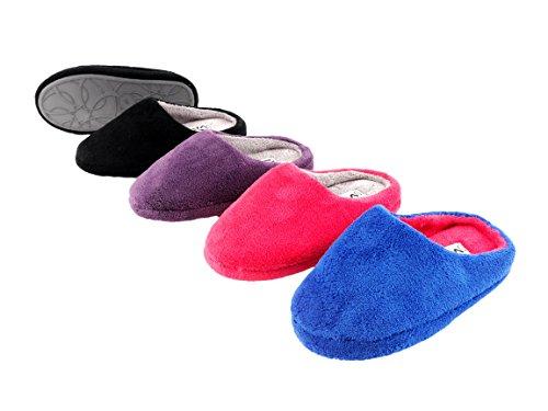 Brandsseller Donna Brandsseller Pantofole Pantofole Donna lilla Viola Brandsseller Viola lilla dppRf0n