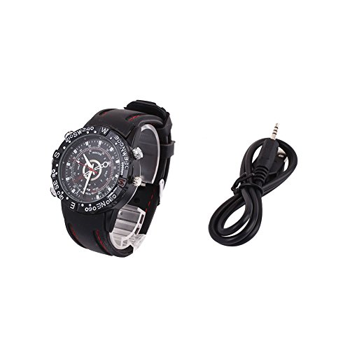 8Gb Water Resistant Spy Watch Camera - 2