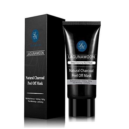 Lagunamoon Black Mask Purifying Peel Off Mask, 70ML Blackhea