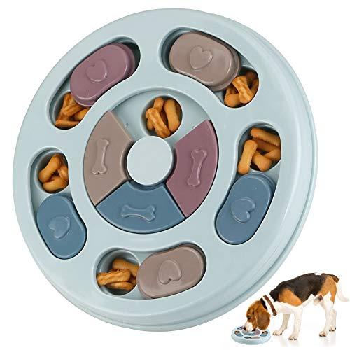 RJEDL Hund Puzzle Feeder Spielzeug, Haltbares interaktives Hundespielzeug, Hundehirn Spiele, Verbessern IQ Feeder Puzzle…