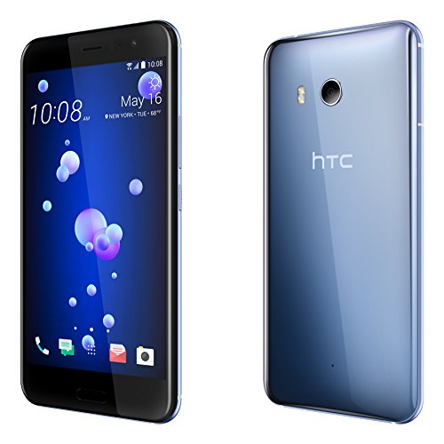 htc u11 factory unlocked phone amazing silver import. Black Bedroom Furniture Sets. Home Design Ideas